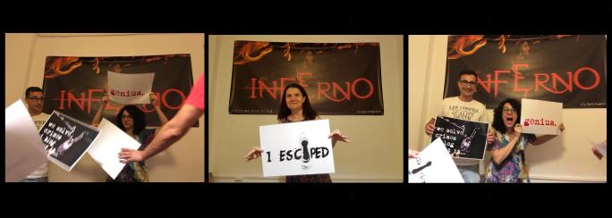 Câștigătorii concursului Inferno - @joculdeavatiascunselea.com